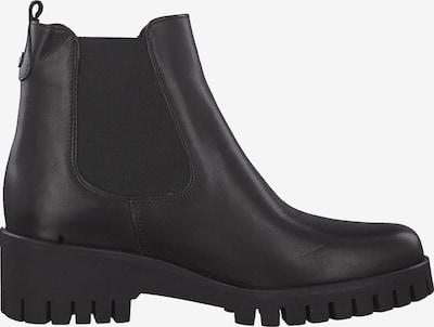 TAMARIS Chelsea boots in de kleur Zwart: Zijaanzicht