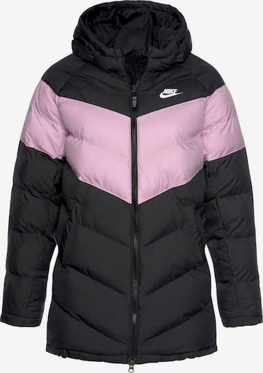 Nike Sportswear Sportjacke in rosa / schwarz, Produktansicht