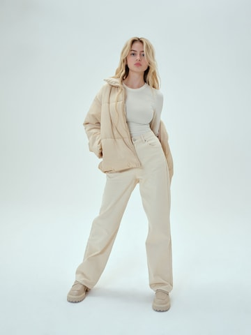 Allover Beige Look by LENI KLUM x ABOUT YOU