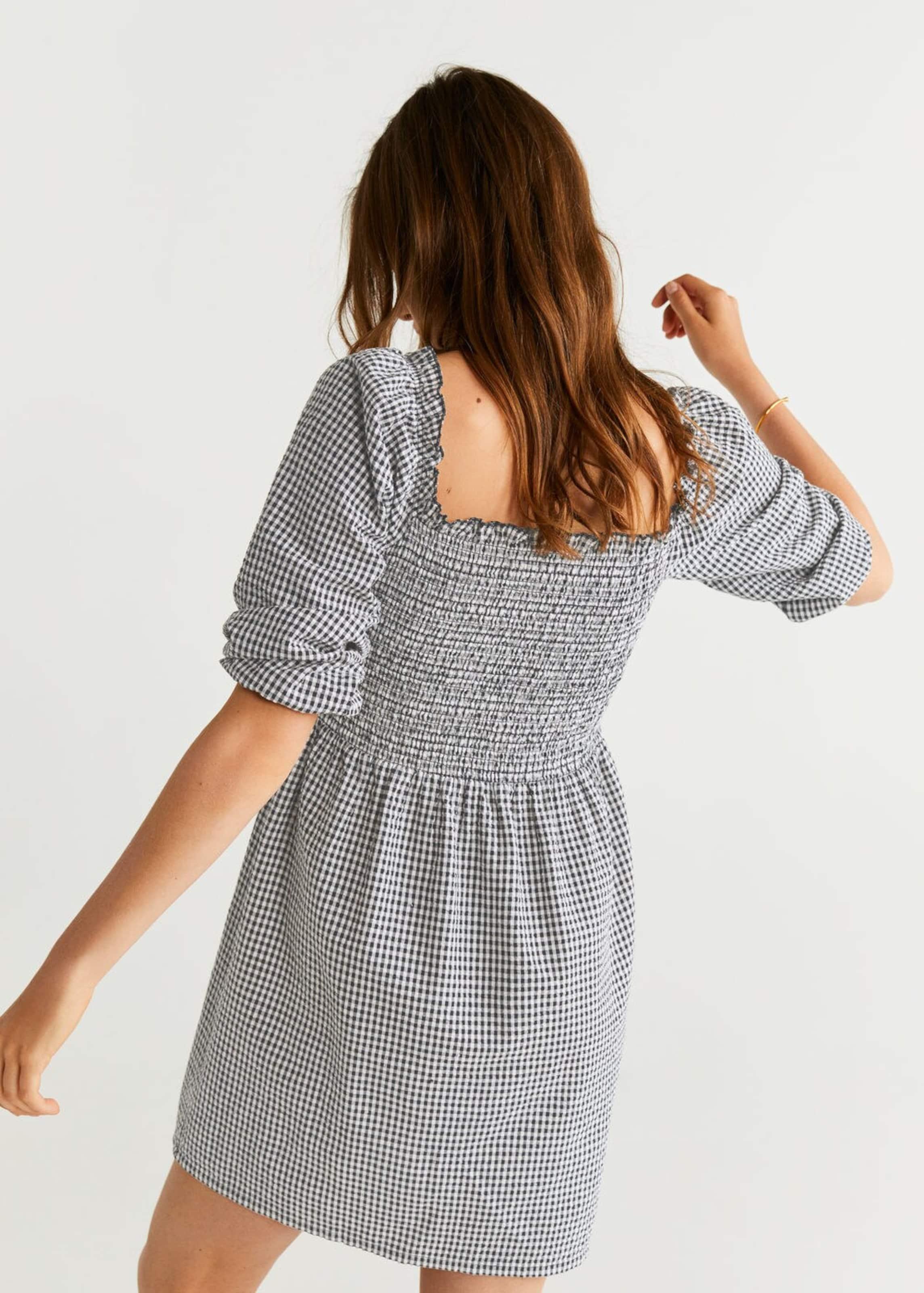 Kleid In Mango h' SchwarzWeiß 'audrey SVzMLqUGp