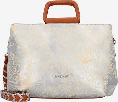 Desigual Handtasche in hellbraun / goldgelb / silber, Produktansicht