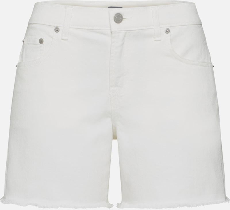 GAP Shorts '5INSHORTSALTFH' in white denim, Produktansicht
