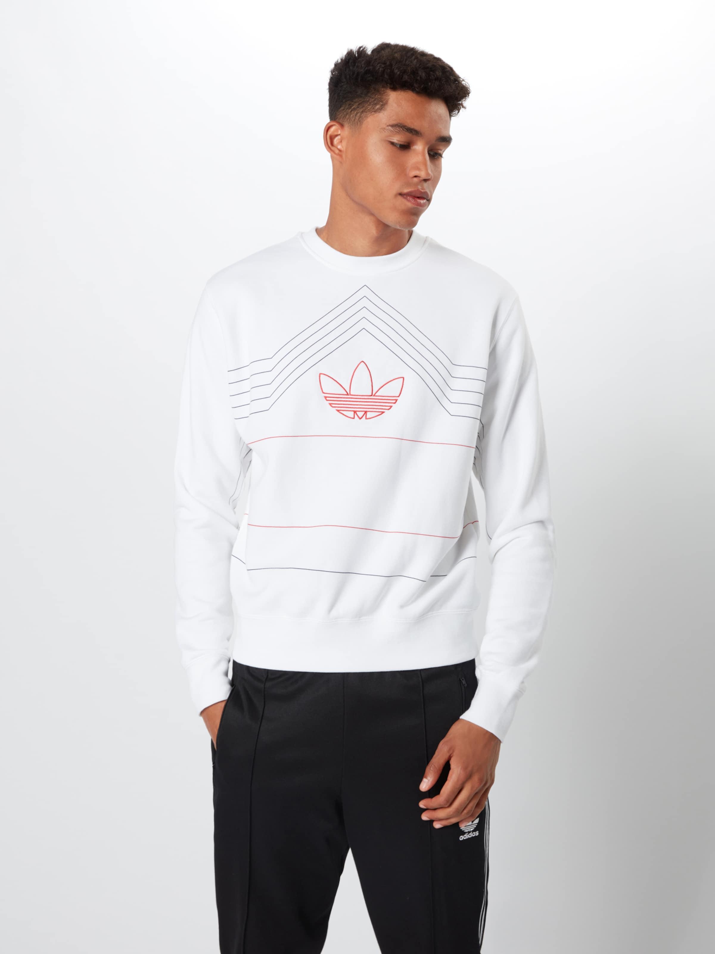 'rivalry Blanc En Originals Sweat shirt Crew' Adidas mOn0Nv8w