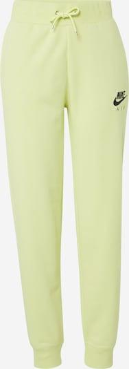 Nike Sportswear Sweathose 'W NSW AIR PANT FLC BB' in zitrone, Produktansicht