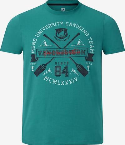 Jan Vanderstorm T-shirt 'Alexandur' in grün, Produktansicht