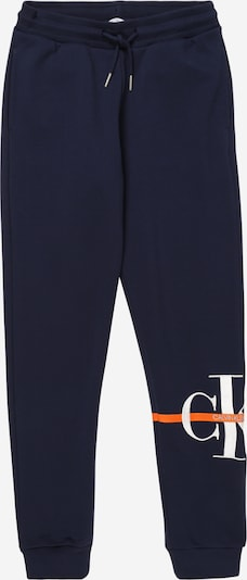 sötétkék Calvin Klein Jeans Nadrág 'MONOGRAM', Termék nézet