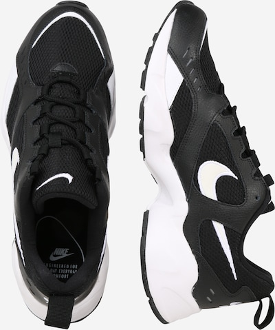 Nike Sportswear Sneakers laag 'AIR HEIGHTS' in de kleur Zwart / Wit: Zijaanzicht