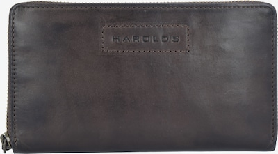 Harold's Geldbörse in dunkelbraun, Produktansicht