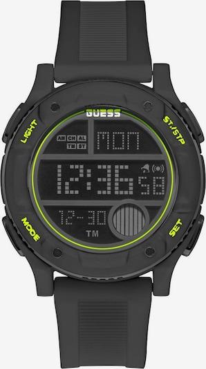 GUESS Digitaluhr »ZIP, GW0225G3« in grün / schwarz, Produktansicht