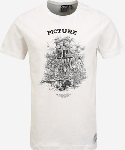 Picture Organic Clothing Funkční tričko 'DAD&SON CABIN' - černá / bílá, Produkt