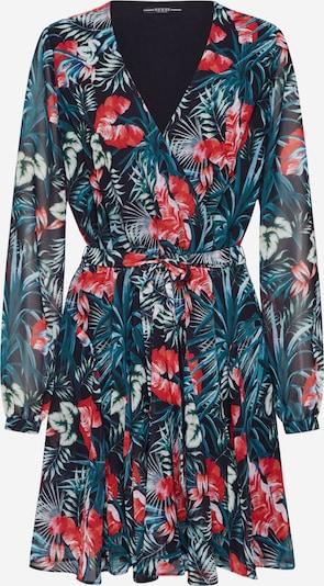 GUESS Kleid 'EULALIA' in blau / grün / rot / schwarz, Produktansicht