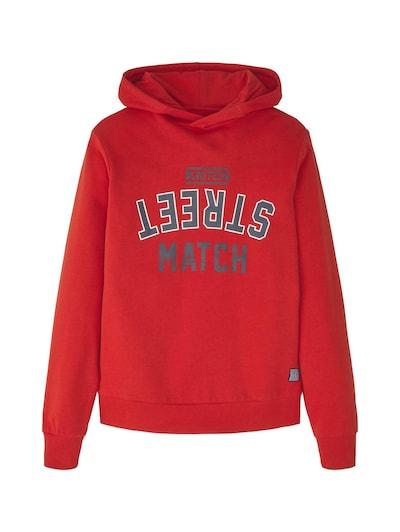 TOM TAILOR Sweatshirt in rot, Produktansicht