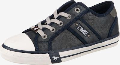 MUSTANG Sneakers laag in de kleur Donkerblauw / Taupe / Rookgrijs / Wit, Productweergave