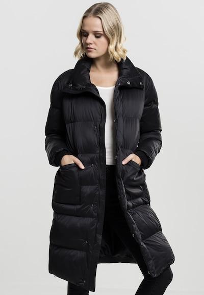 Urban Classics Zimski plašč | črna barva, Prikaz modela