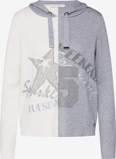monari Pulover | kremna / srebrno-siva / pegasto siva barva, Prikaz izdelka