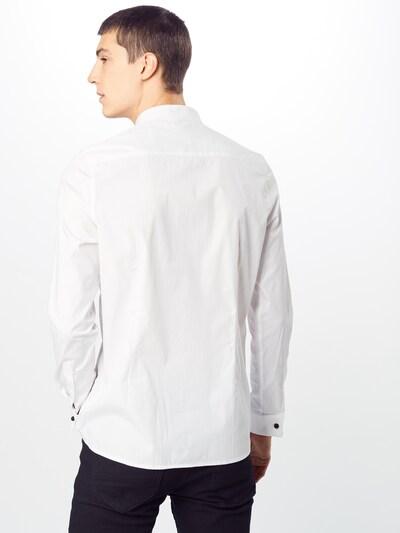 BURTON MENSWEAR LONDON Zakelijk overhemd in de kleur Wit: Achteraanzicht
