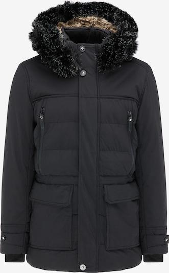 TUFFSKULL Winterparka in schwarz, Produktansicht
