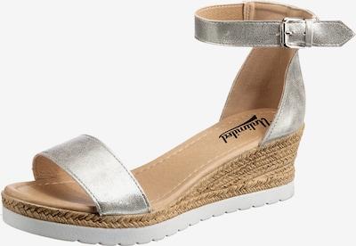 UNLIMITED Sandalette in silber, Produktansicht
