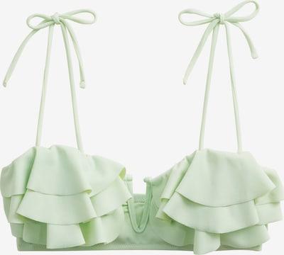 MANGO Bikinitop 'Sita' in de kleur Mintgroen, Productweergave