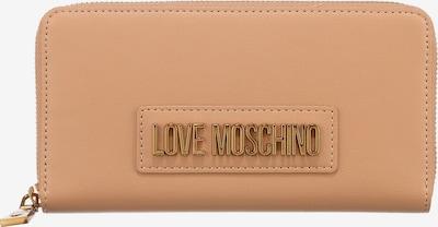Love Moschino Portemonnaie in beige, Produktansicht