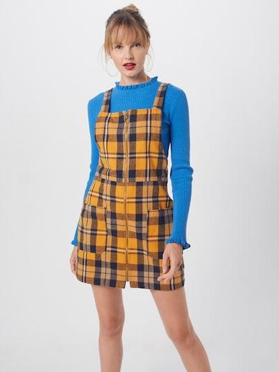 Superdry Kleid 'PINAFORE' in senf, Modelansicht