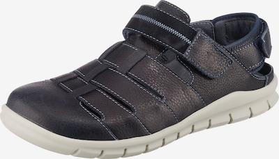 WALDLÄUFER Hector Komfort-Sandalen in blau / dunkelblau / schwarz, Produktansicht