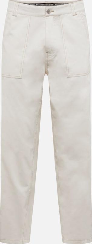Review En 'worker Blanc Pantalon Cassé Pants' nNwm08