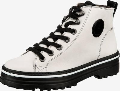 Paul Green Stiefeletten in schwarz / weiß, Produktansicht