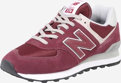 new balance Trampki niskie 'ML574' w kolorze burgund / perłowo białym, Podgląd produktu