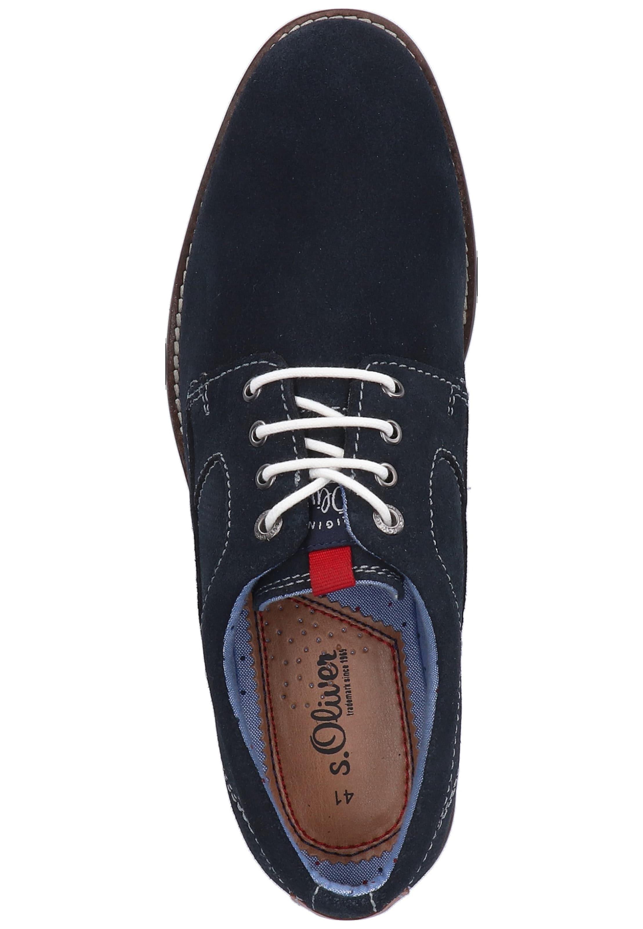 Chaussure S oliver Red Rouge En Label Lacets MarineMarron À Bleu 7Ygv6bfy