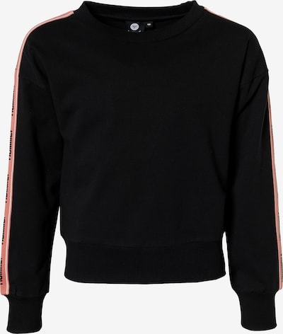 Hummel Sweatshirt 'Anja' in altrosa / schwarz, Produktansicht