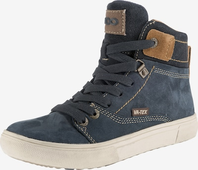 Vado Winterschuh 'BOSSE' in blau / nachtblau / braun / schwarz, Produktansicht
