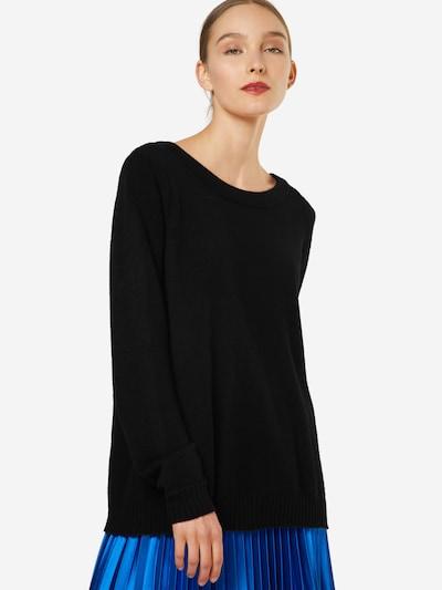 VILA Sweter w kolorze nakrapiany czarnym, Podgląd na modelu(-ce)