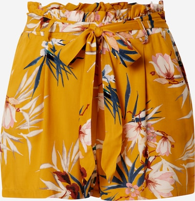 Pantaloni cutați 'NOVA LIFE' ONLY pe galben auriu / culori mixte: Privire frontală