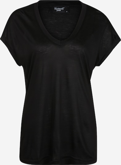 SISTERS POINT T-shirt oversize en noir, Vue avec produit