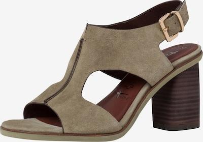 TAMARIS Sandalette in hellbeige, Produktansicht