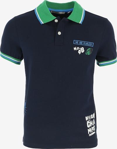 MEXX Poloshirt in blau / grün / weiß, Produktansicht