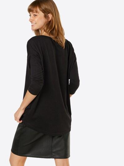ONLY Shirt 'ELCOS' in schwarzmeliert: Rückansicht