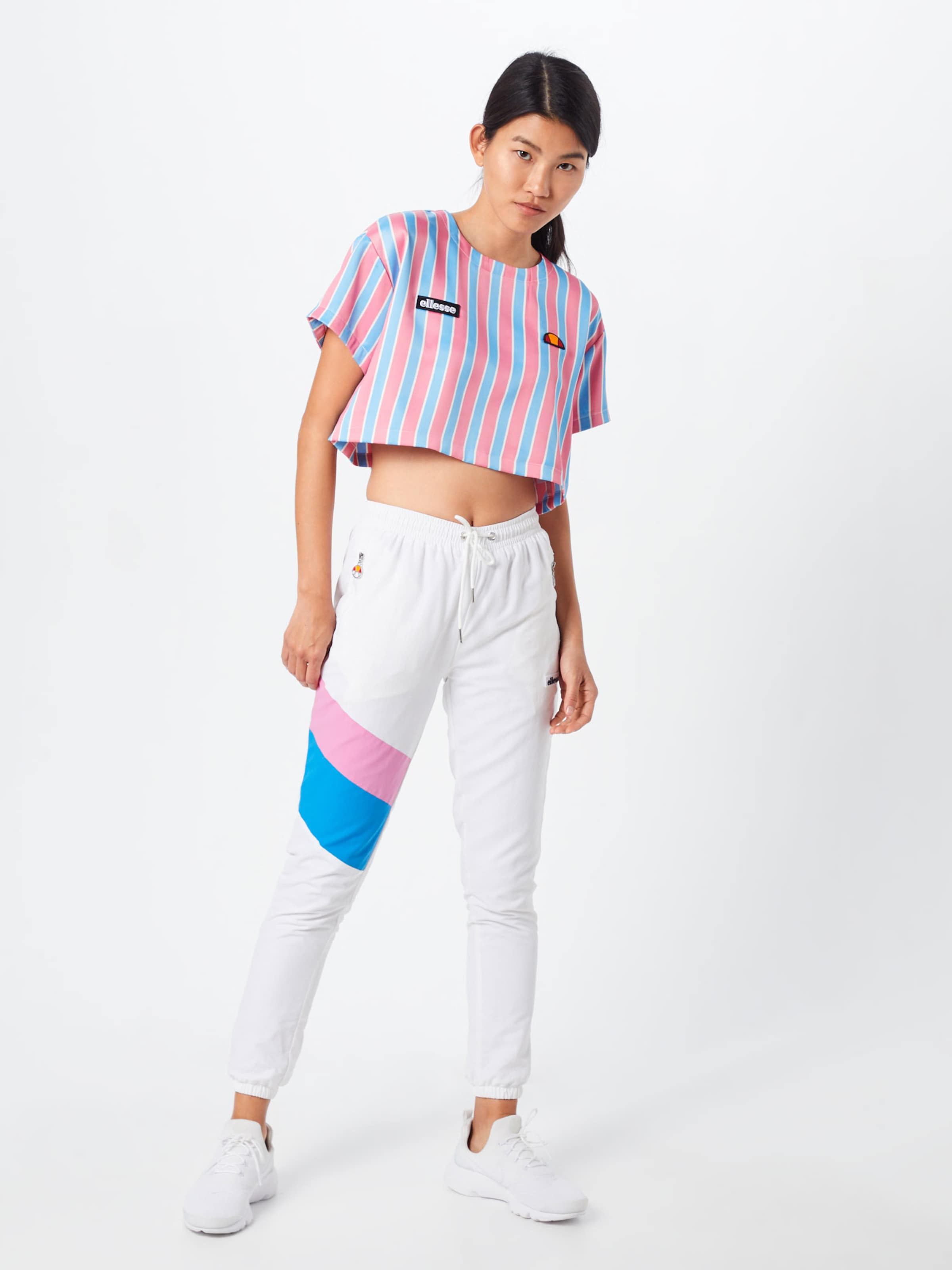 Ellesse Bleu De Rose Couleurs ClairMélange shirt 'naga' T En bg76yYf