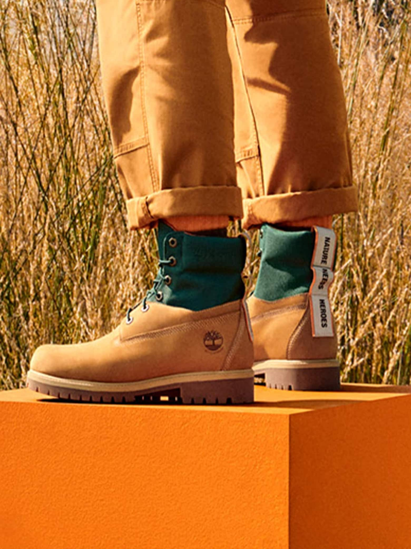 NATURE NEEDS HEROES™ Timberland