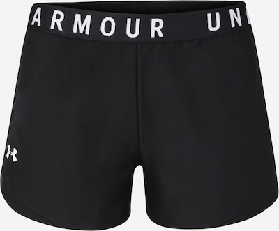 UNDER ARMOUR Sportshorts 'Play Up Shorts 3.0' in schwarz / weiß, Produktansicht
