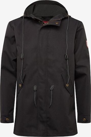Derbe Jacke 'JF_Stichling' in schwarz, Produktansicht