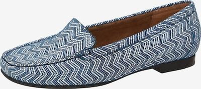 SIOUX Mocassins 'Zalla' in de kleur Blauw / Wit, Productweergave
