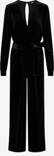 Dr. Denim Jumpsuit 'Lucida ' in schwarz: Frontalansicht
