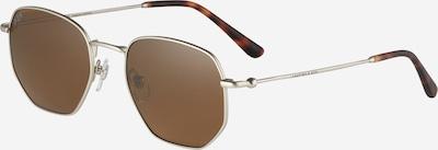 Kapten & Son Sonnenbrille 'Brisbane' in dunkelbraun / bronze / silber, Produktansicht