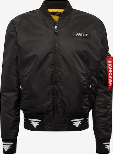 Magdeburg - Los Angeles Prehodna jakna | rumena / črna / bela barva, Prikaz izdelka