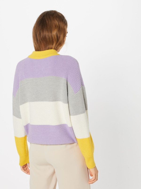'riboutté' Pull JauneViolet Another Label over En rhdtsQ