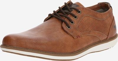 MUSTANG Šnurovacie topánky - svetlohnedá, Produkt