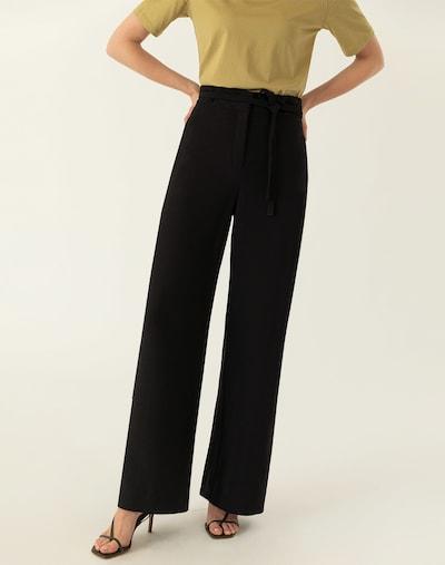 IVY & OAK Hose in schwarz, Modelansicht
