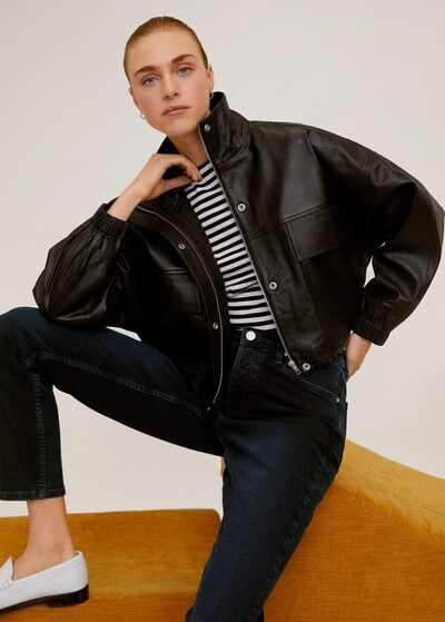 MANGO Jeans 'Relax' in dunkelblau, Produktansicht